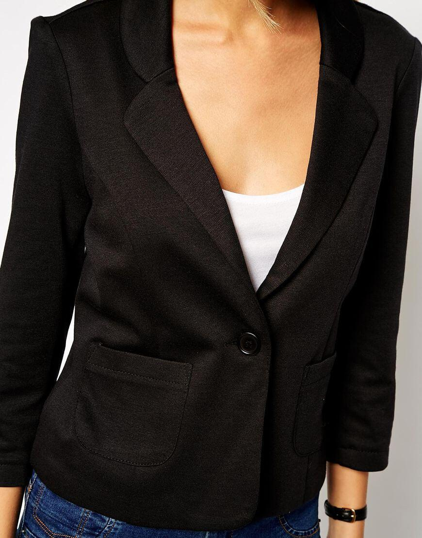Notch Blazer in Longline